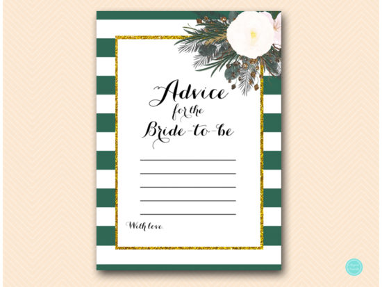 bs460-advice-for-bride-forest-green-white-floral-bridal-shower