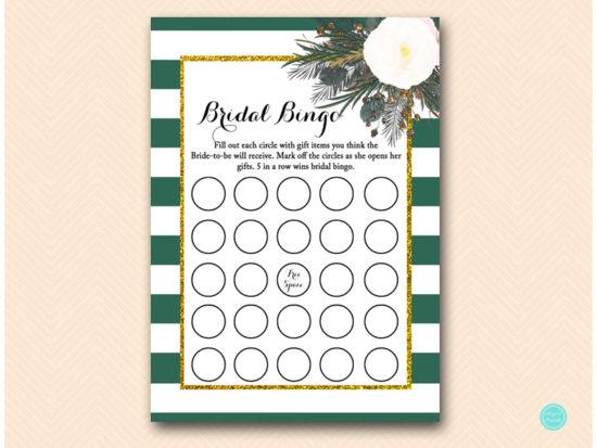 bs460-bingo-bridal-forest-green-white-floral-bridal-shower