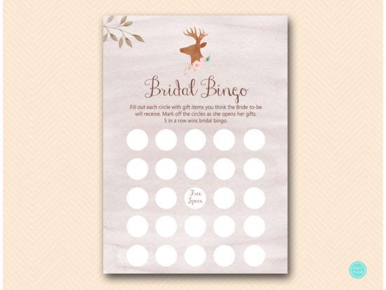bs461-bingo-bridal-gift-deer-antler-woodland-bridal-shower