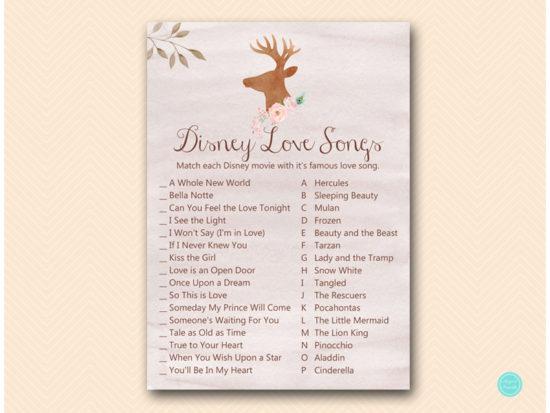 bs461-disney-love-songs-deer-antler-woodland-bridal-shower