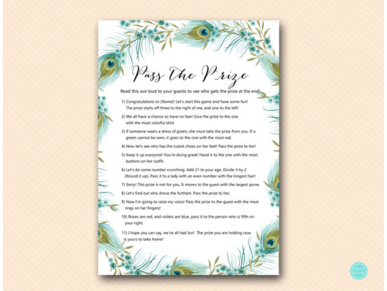 bs462-pass-the-prize-peacock-bridal-shower-games