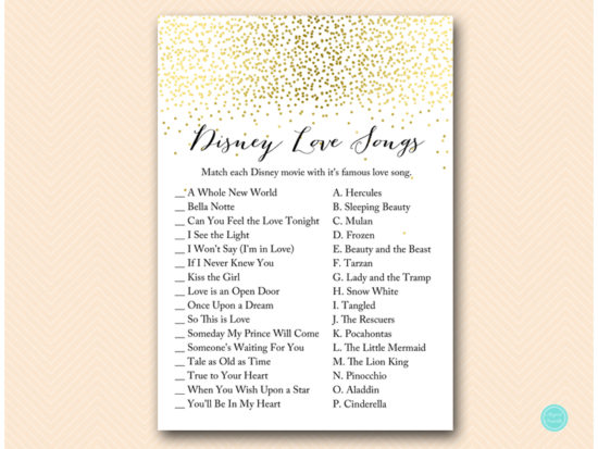 bs472-disney-love-songs-match-gold-bridal-shower-games