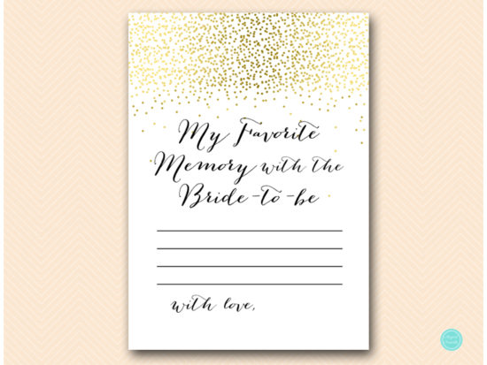 bs472-favorite-memory-with-bride-card-gold-bridal-shower-games