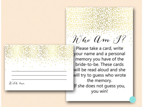 bs472-who-am-i-card-6x4-gold-bridal-shower-games