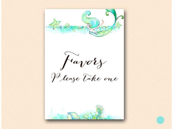 sn446-sign-favors-mermaid-bridal-shower-sign