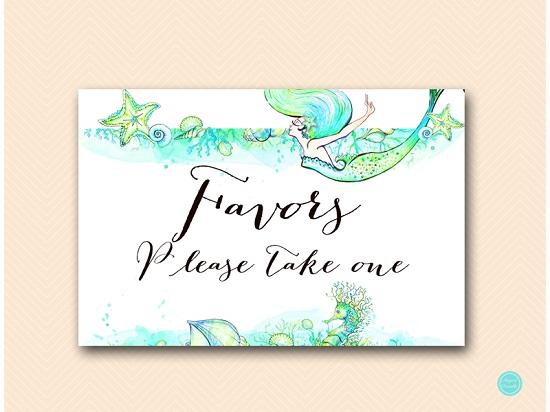 sn446-sign-favors-mermaid-bridal-shower-sign-landscape