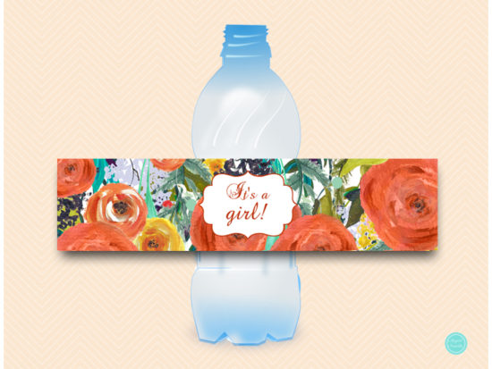 sn451-water-bottle-label-fall-baby-shower-autumn-decoration