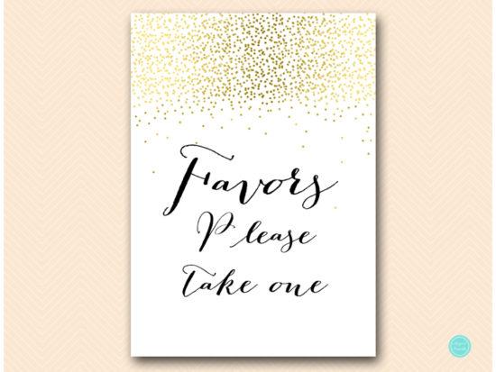 sn472-favors-sign-gold-bridal-shower-decoration-sign