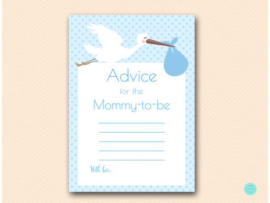 tlc458b-advice-for-mommy-sign-blue-boy-stork-baby-shower-game