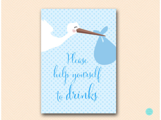 tlc458b-sign-drinks-blue-boy-stork-baby-shower-game