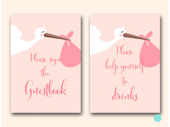 tlc458p-sign-guestbook-please-sign-pink-girl-stork-baby-shower-game