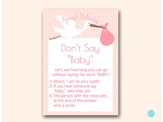 tlc458p-dont-say-baby-5x7-pink-girl-stork-baby-shower-game