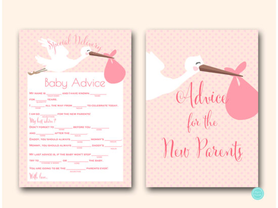 tlc458p-mad-libs-advice-for-parents-sign-pink-girl-stork-baby-shower