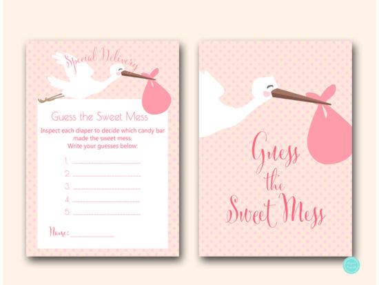 tlc458p-sweet-mess-pink-girl-stork-baby-shower