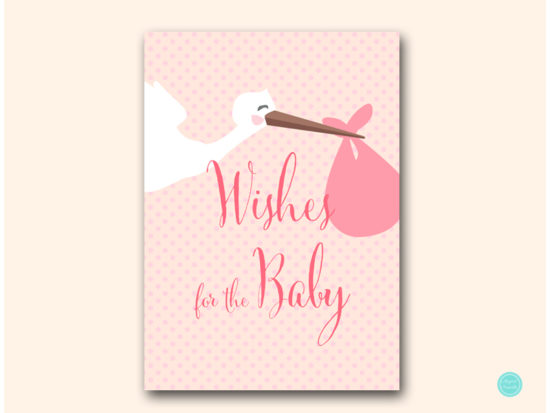 tlc458p-wishes-for-baby-sign-pink-girl-stork-baby-shower-game