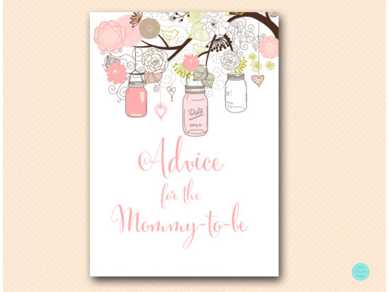 tlc459-advice-mommy-sign-girl-pink-mason-jars-baby-shower
