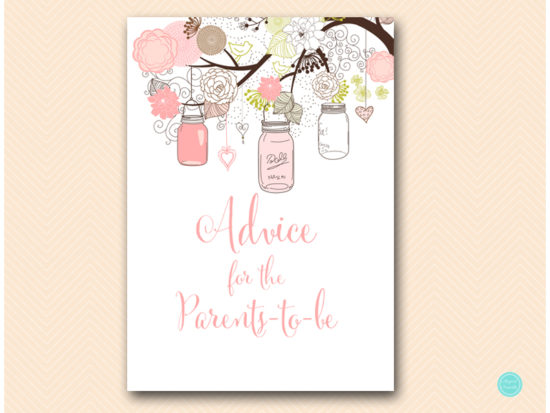 tlc459-advice-parents-sign-girl-pink-mason-jars-baby-shower