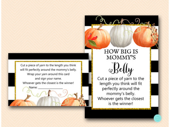 tlc463-how-big-is-mommys-belly-pumpkin-baby-shower-autumn-fall