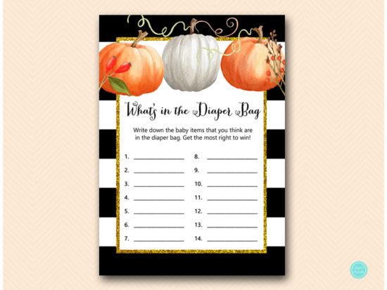 tlc463-whats-in-diaper-bag-pumpkin-baby-shower-autumn-fall