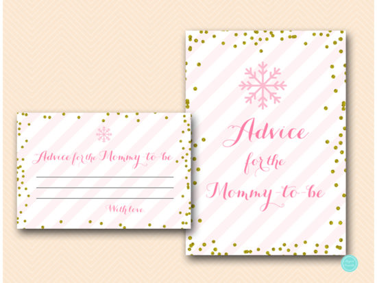 tlc464-advice-for-mommy-sign-pink-gold-winter-baby-shower-game