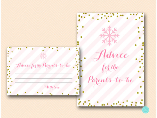 tlc464-advice-for-parent-pink-gold-winter-baby-shower-game