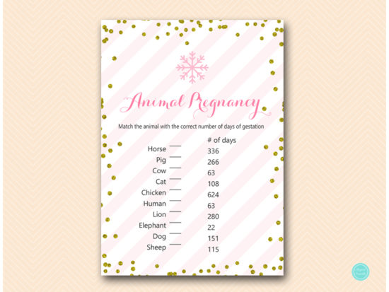 tlc464-animal-pregnancy-gestation-pink-gold-winter-baby-shower-game