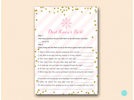 tlc464-dad-knows-best-pink-gold-winter-baby-shower-game
