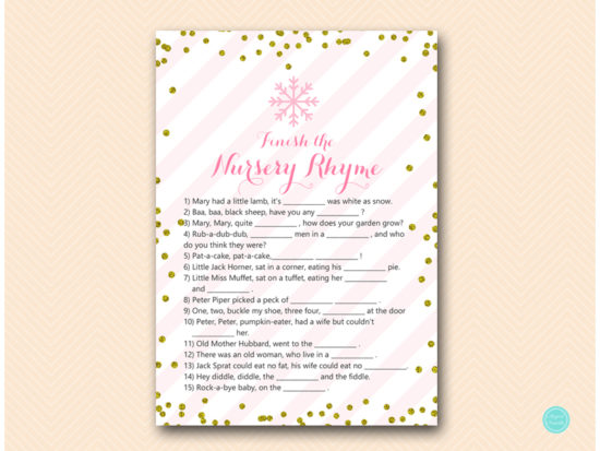 tlc464-nursery-rhyme-finish-pink-gold-winter-baby-shower-game