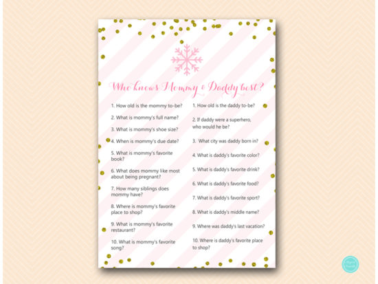 tlc464-who-knows-mommy-daddy-best-pink-gold-winter-baby-shower-game