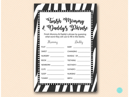 tlc469z-finish-mommy-daddy-phrase-zebra-baby-shower