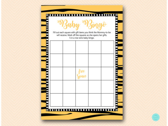 tlc469t-bingo-baby-gift-items-jungle-tiger-baby-shower-game