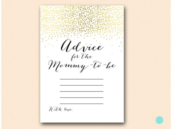 tlc472-advice-for-mommy-card-5x7-gold-baby-shower-game