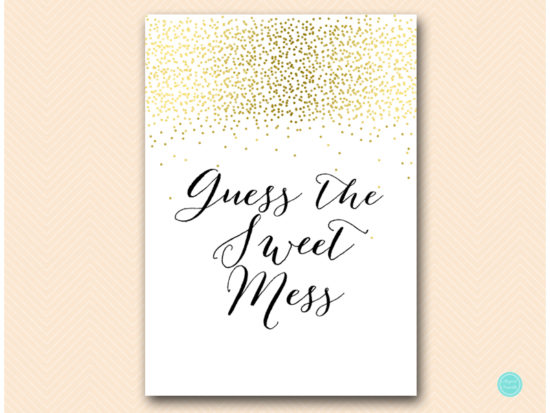 tlc472-guess-sweet-mess-sign-gold-baby-shower-games