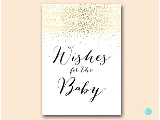 tlc472-wishes-for-the-baby-sign-gold-baby-shower-games