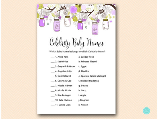 tlc475-celebrity-baby-names-aust-purple-mason-jars-baby-shower-game