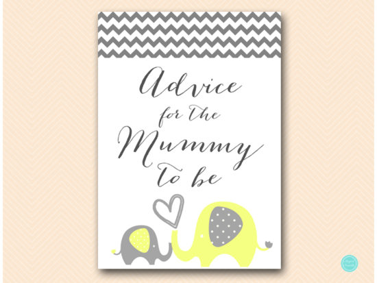 bs473-advice-for-mummy-sign-yellow-elephant-baby-shower-game