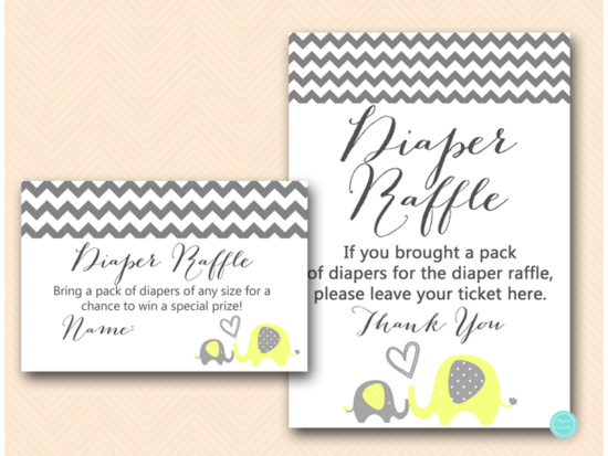 bs473-diaper-raffle-sign-yellow-elephant-baby-shower-game