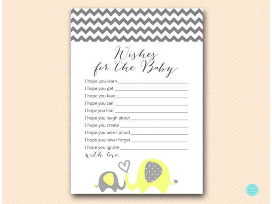 bs473-wishes-for-baby-card-yellow-elephant-baby-shower-game