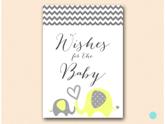 bs473-wishes-for-baby-sign-yellow-elephant-baby-shower-game