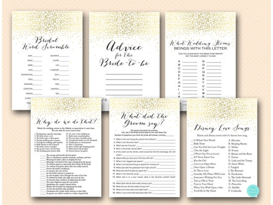 gold-bridal-shower-games-package-instant-download-bs472