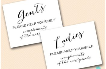 sign-wedding-bathroom-sign-ladies-gents