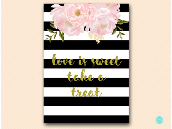 sn390-love-is-sweet-take-treat-black-gold-floral-decoration-sign-printable5x7
