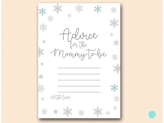 tlc491-advice-for-mom-glitter-snowflake-winter-baby-shower-game