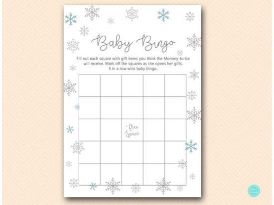 tlc491-bingo-baby-gifts-glitter-snowflake-winter-baby-shower-game