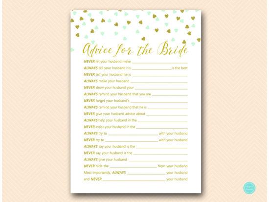 bs488m-advice-for-bride-husband-mint-gold-bridal-shower