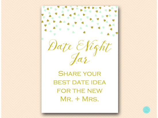 bs488m-date-night-idea-sign-5x7-mint-gold-bridal-shower
