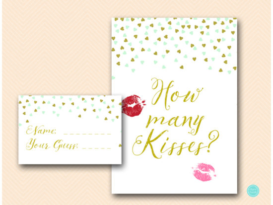 bs488m-guess-how-many-kisses-5x7-mint-gold-bridal-shower
