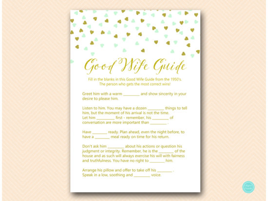 bs488m-how-to-be-good-wife-guide-mint-gold-bridal-shower