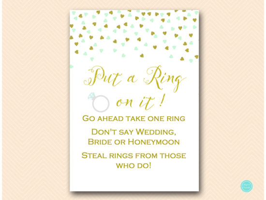 bs488m-put-a-ring-on-it-5x7-mint-gold-bridal-shower