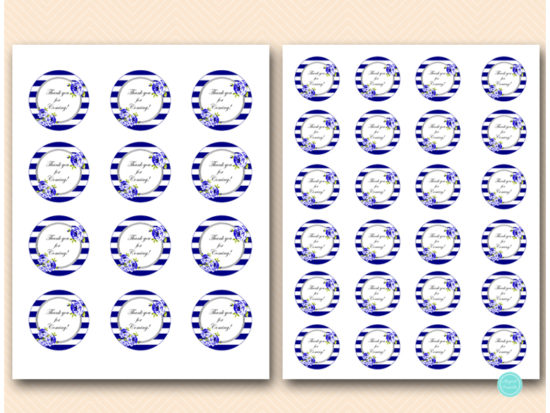 bs513-circle-tags-2inches-navy-blue-silver-floral-thank-you-favor-tags